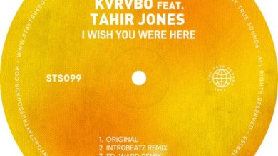KVRVBO I Wish You Were Here ft. Tahir Jones (Original Mix) Mp3 Download