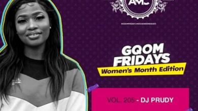 DJ Prudy – GqomFridays Mix Vol 205 (Women's Month Edition) Mp3 Download
