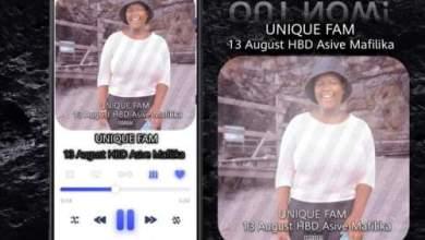 Unique Fam – 13 August HBD Asive Mafilika Mp3 Download