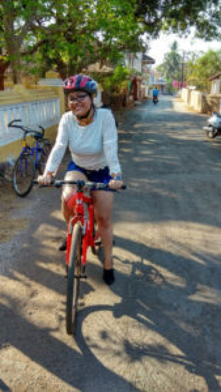 My bicycle ride in Goa