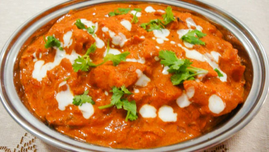 The delicious Butter Chicken