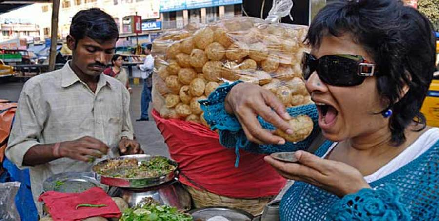 The unhygienic street food