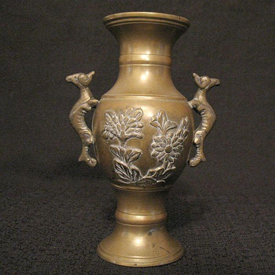 Carved Flower Vase