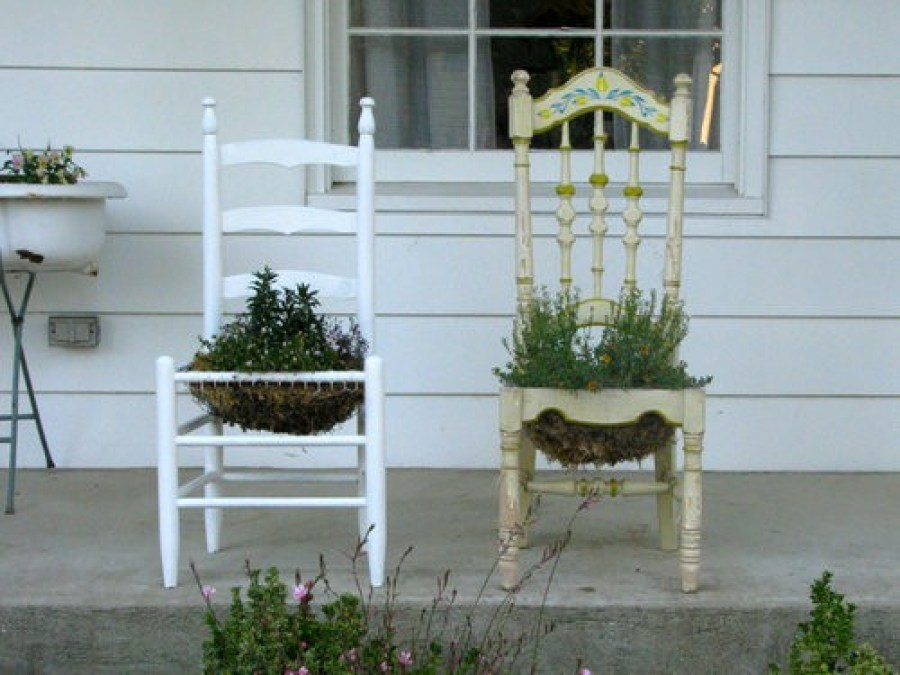 Using Furniture for Plants