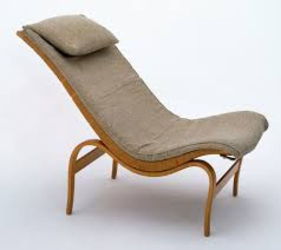 A Cushioned Easy Chair