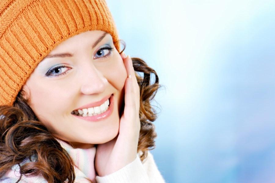 Skin needs moisture in winter