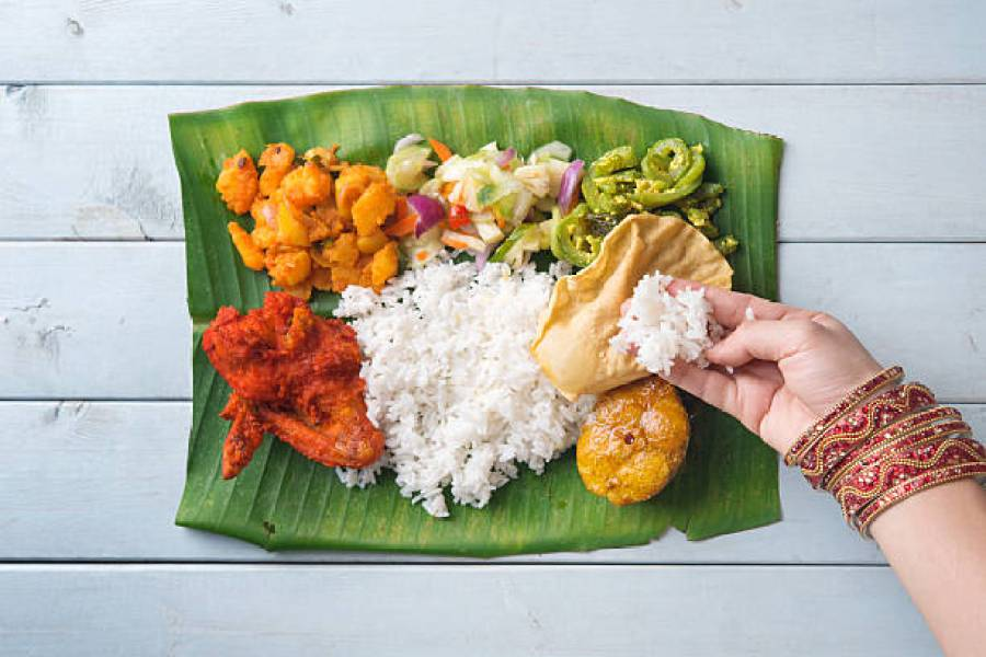 Kerala thali is incomplete without rice