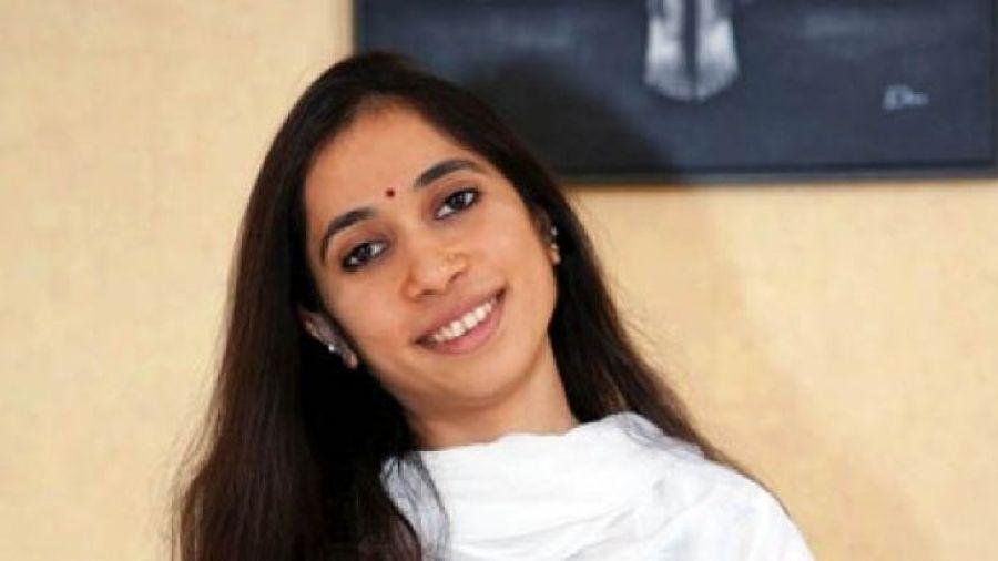 The vivacious Kaushani Desai