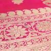 Banarasi Pure Handloom Lime Green Katan Silk Saree 8