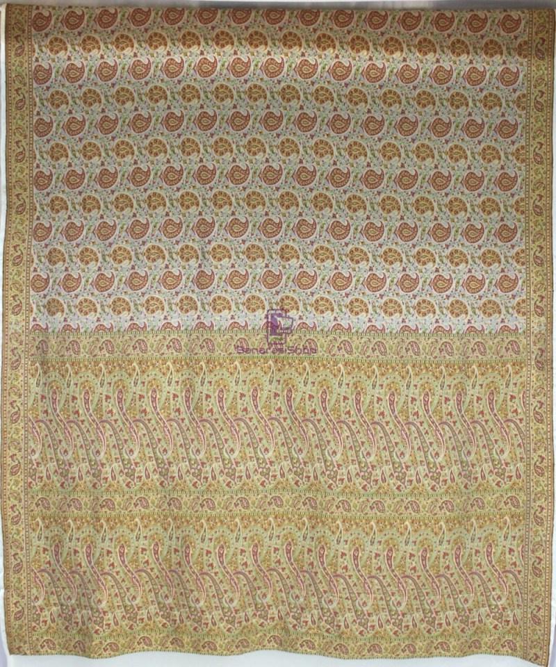 Handwoven Pure Banarasi Jamdani Chiffon Silk Saree in White 2