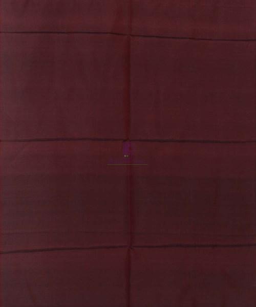 Handloom Banarasi Tanchoi Wine Red Stole 5