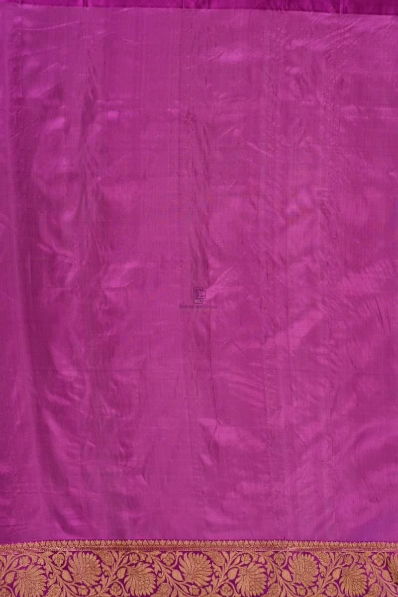 Pure Banarasi Tussar Handwoven Beige Silk Saree 2