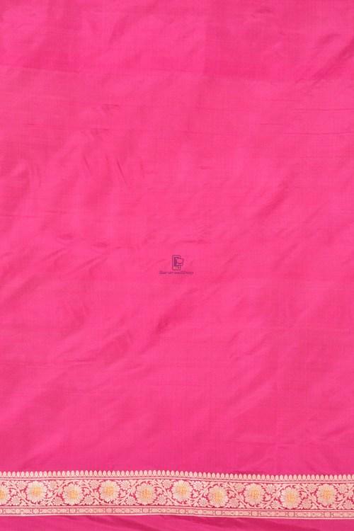 Pure Banarasi Katan Silk Handloom Saree 3