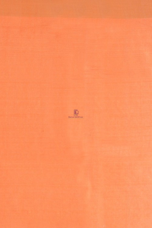 Tussar Silk Saree with Unstitched Blouse Fabric 7