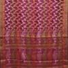 Woven Pure Muga Silk Banarasi Saree in Bone White 9