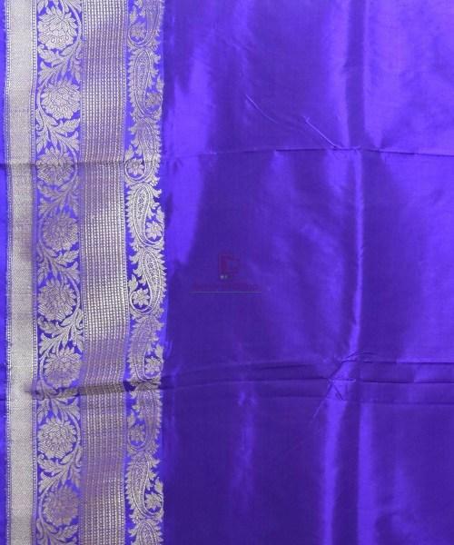 Banarasi Pure Katan Silk Handloom Peach Pink Saree 7