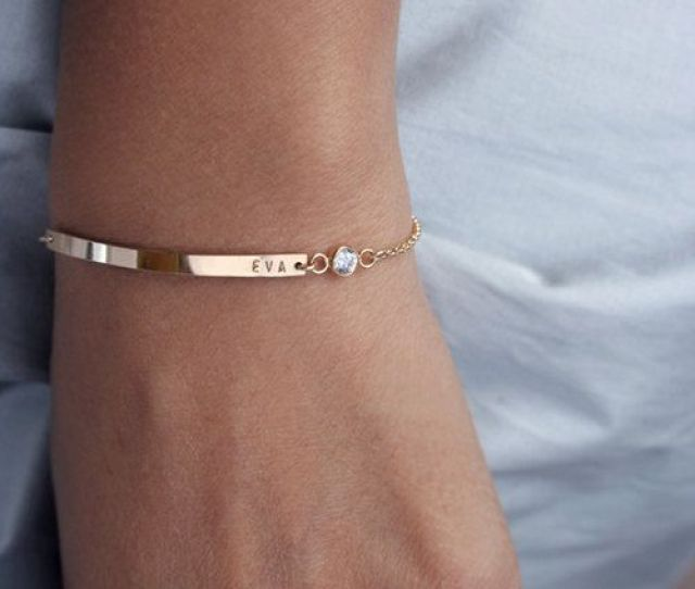 Personalised Bangle Christmas Gift Ideas For Wife