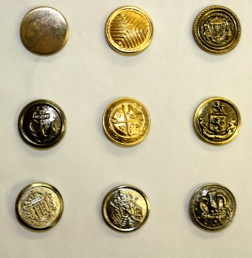 Metal Blazer Buttons
