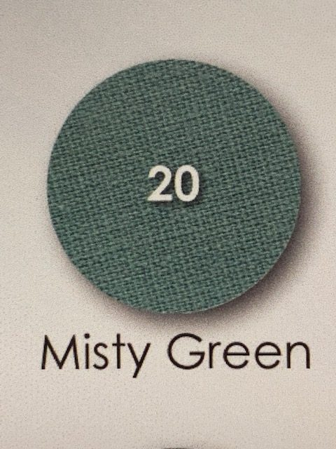 Misty Green Percale
