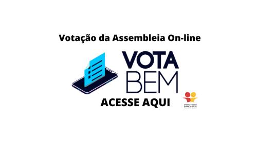 Votação da Assembleia On-line