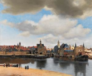 Vue de Delft, par Vermeer