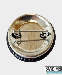 32mm Buttons mit Nadel hinten