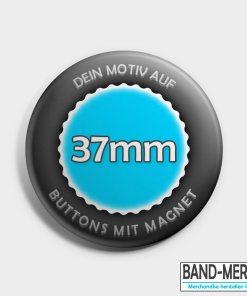 37mm Buttons mit Magnet vorne