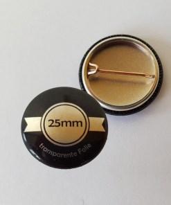 25mm buttons silber drucken lassen