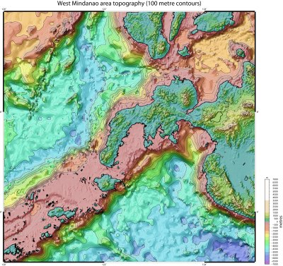 Eastern Indonesia topographic maps - SRTM Timor, Seram ...
