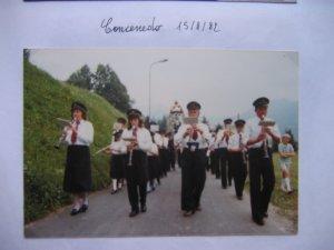 Concenedo - Processione Assunta 1982