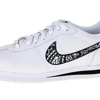 Black Bandana Custom Nike Cortez Shoes LWB Swoosh