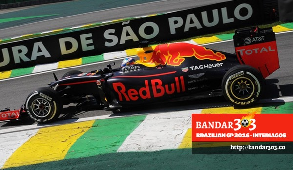 Daniel Ricciardo Red Bull Racing Brazilian GP 2016