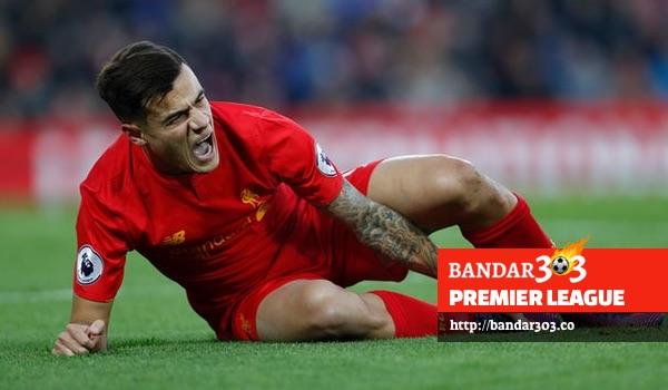Phillippe Coutinho cidera Livepool Sunderland EPL 2016 Bandar Bola Terbaik