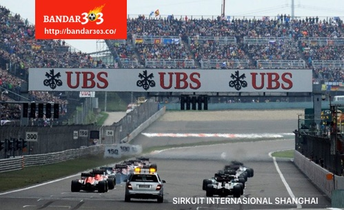 Starting Grid Sirkuit Internasional Shanghai