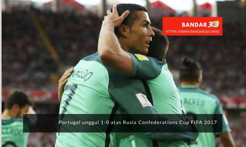 Ronaldo Portugal Rusia 1-0 Confederations Cup