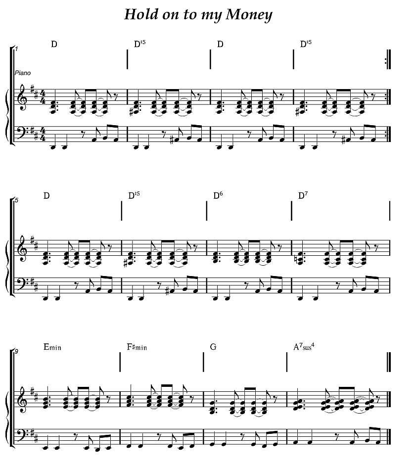 Chord D Suspension Guitar