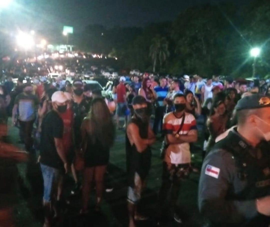 Festa é fechada pela Vigilância Sanitária em Manaus