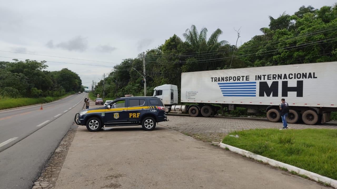 BR-174 não tem bloqueios na manhã desta quinta-feira em manifestações de caminhoneiros