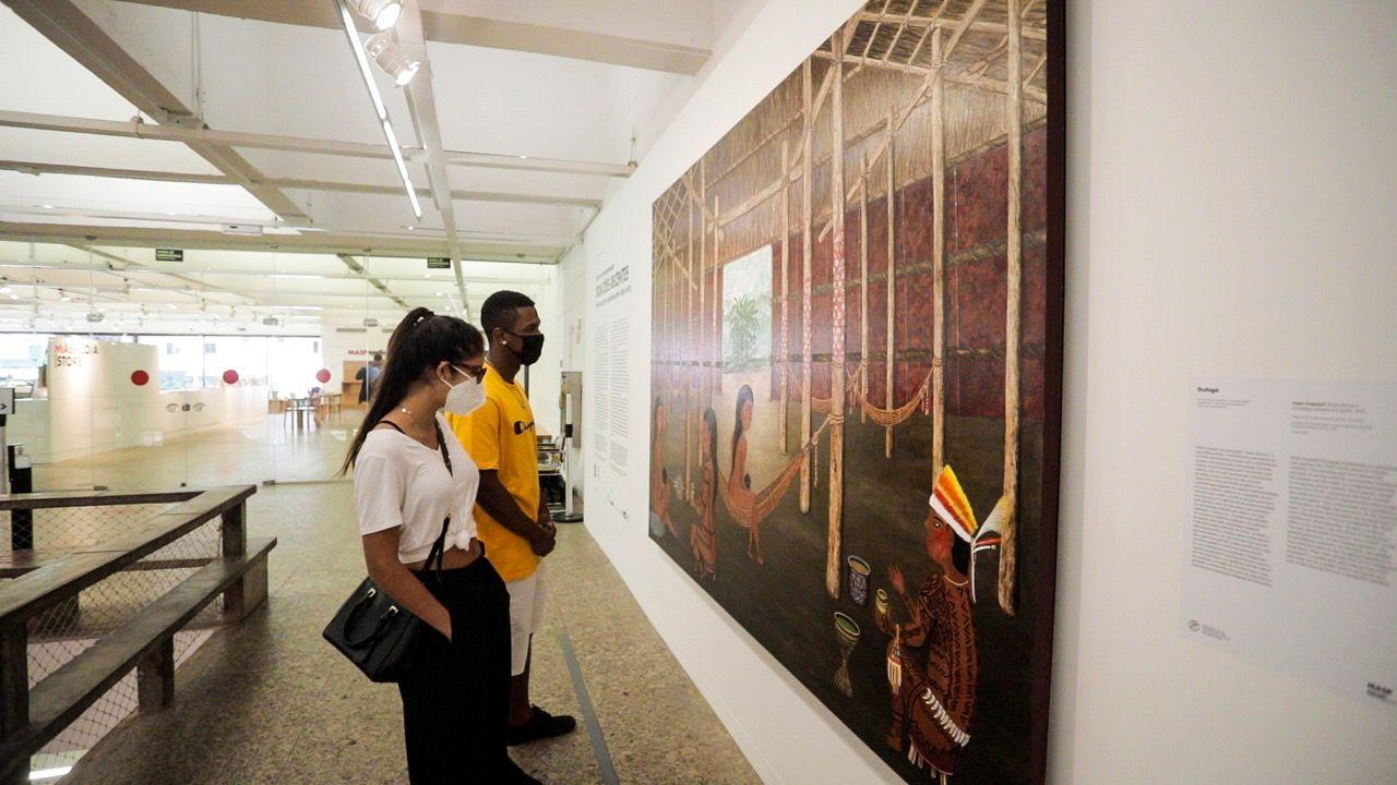 masp tem obra de mulher indígena amazonense