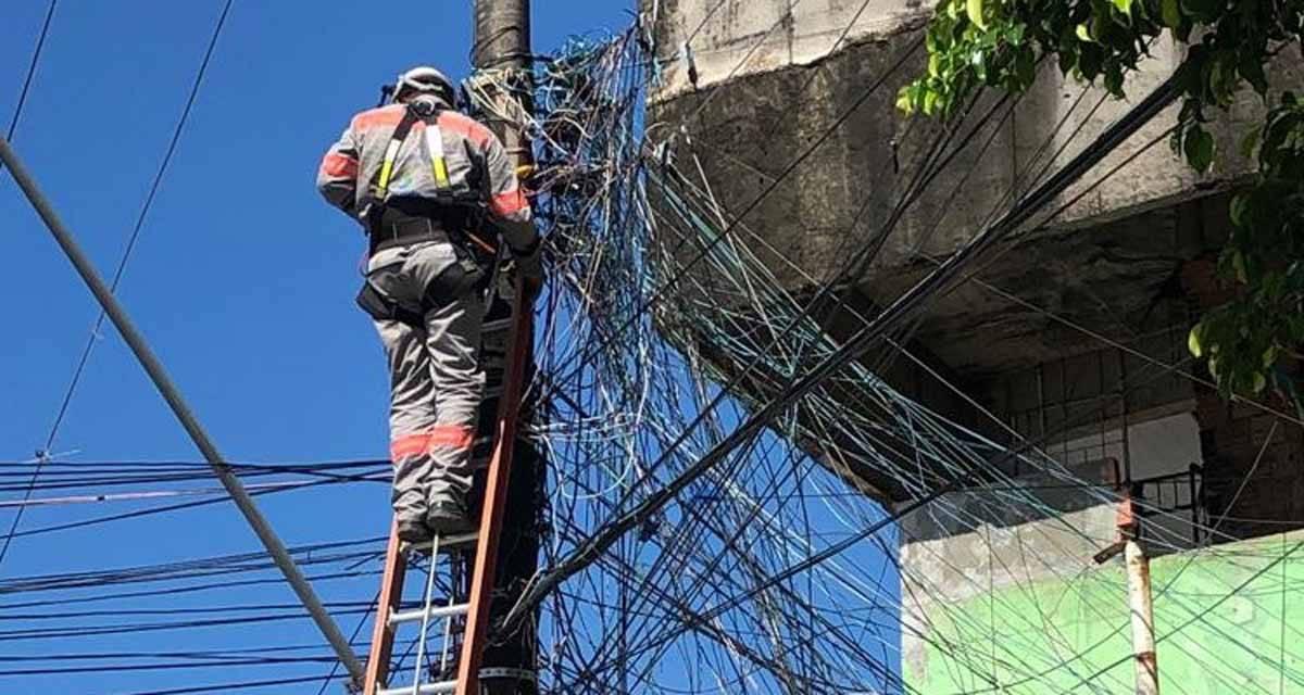Energia elétrica tem evasão de 45% em roubos
