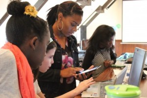 Girl power takes on computer coding in Dunwoody