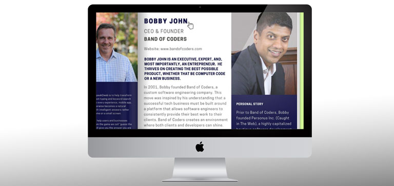 Bobby John CEO & Founder – Band of Coder
