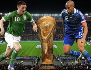 Irlande-France 14 novembre 2009