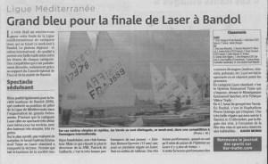 Finale laser Bandol