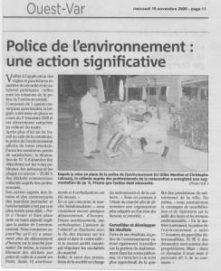 Police de l'nvironnement
