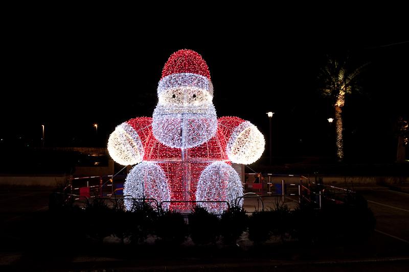 Père-Noel à Bandol