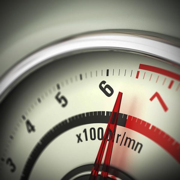 Limit Engine Speed - Rev Counter