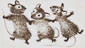 Trois petits rats