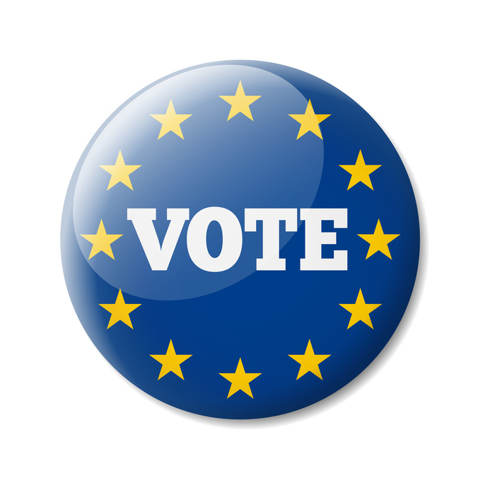 Badge vote Europe