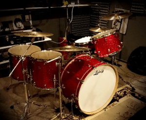 The Red Zeppelin Drumkit | Musical Artifacts